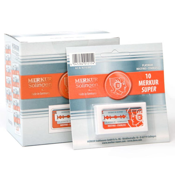 Merkur Super Platinum Double Edge Blades (100)