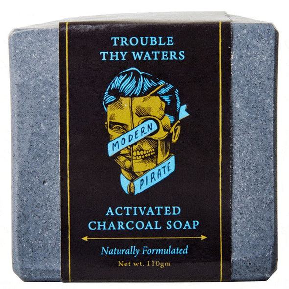 Modern Pirate Activated Charcoal Soap 110g