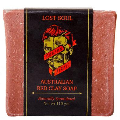 Modern Pirate Australian Red Clay Soap 110g
