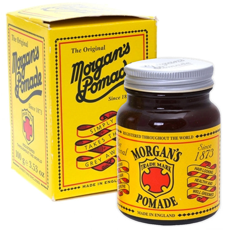 morgans pomade  Morgan's Hair Darkening Pomade 100g – Beard & Blade