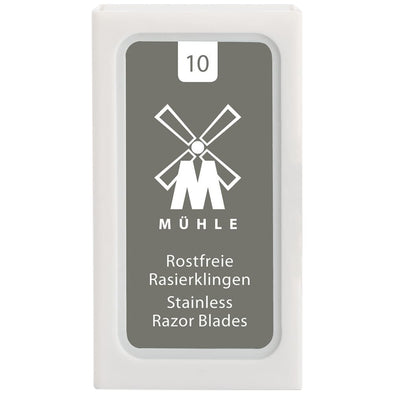 Muhle Stainless Steel Double Edge Blades (10)