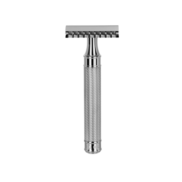 Muhle R41GS Grande Safety Razor Open Comb Stainless Steel
