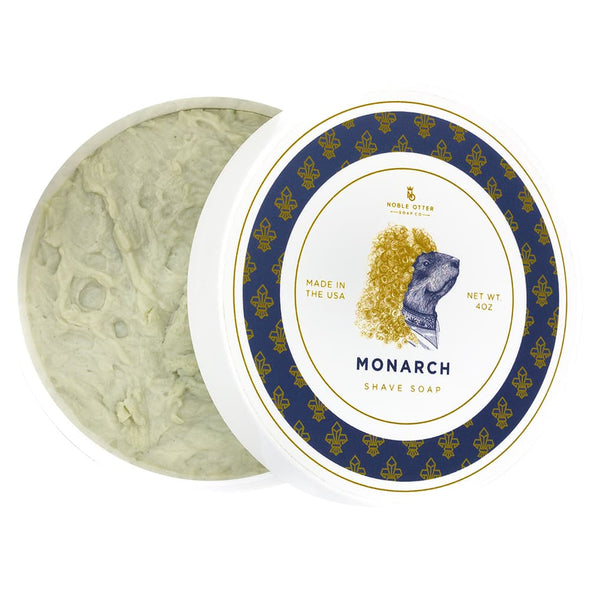 Noble Otter Monarch Shaving Soap 113g