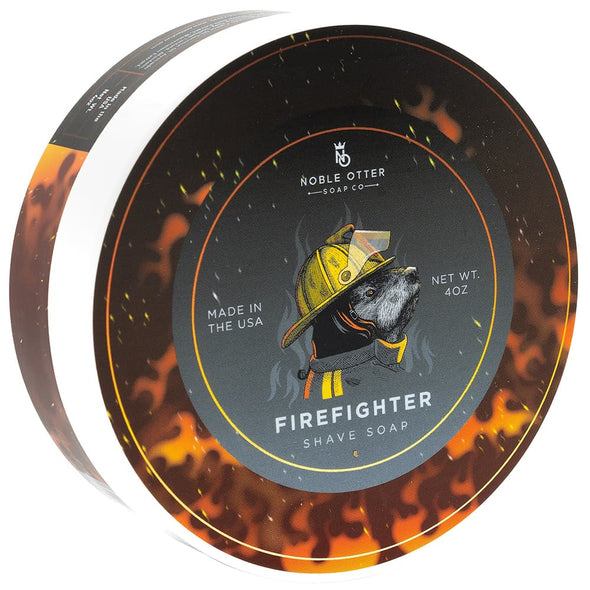 Noble Otter Firefighter Shaving Soap 113g