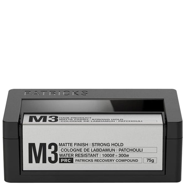 Patricks M3 Matte Strong Hold Styling Clay 75g