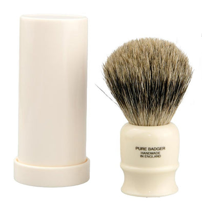 Vulfix Old Original Pure Badger Travel Shaving Brush 2190
