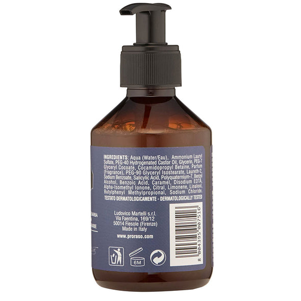 Proraso Beard Wash Azur Lime 200ml