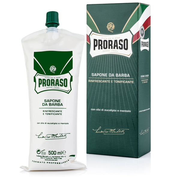 Proraso Eucalyptus & Menthol Shaving Cream Tube 500ml