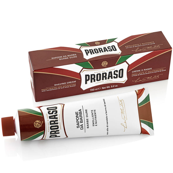 Proraso Sandalwood & Shea Butter Shaving Cream Tube 150ml