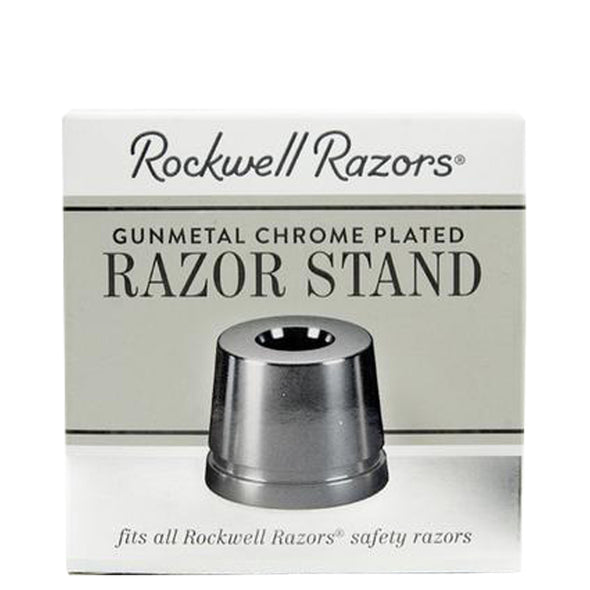 Rockwell Safety Razor Stand Gunmetal Chrome