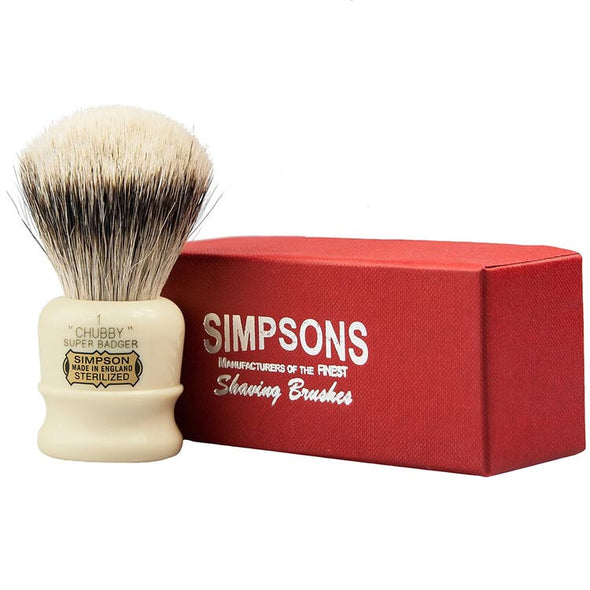 Simpsons Super Badger Shaving Brush Chubby 1