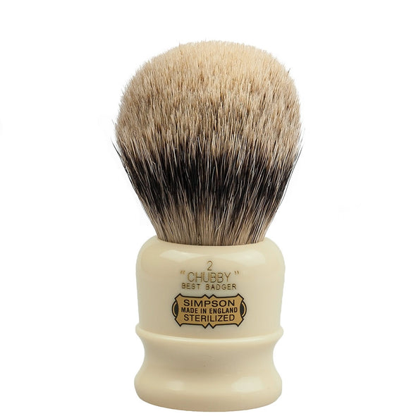 Simpsons Best Badger Shaving Brush Chubby 2