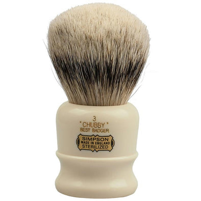 Simpsons Best Badger Shaving Brush Chubby 3