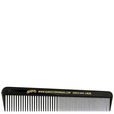Suavecito Pocket Hair Comb Black 127mm