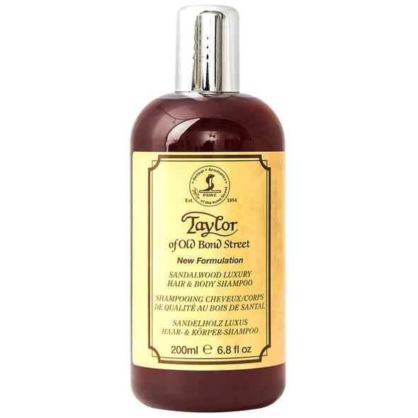 Taylor of Old Bond Street Hair & Body Shampoo Sandalwood 200ml