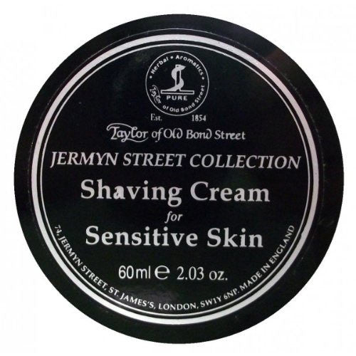 Taylor of Old Bond Street Jermyn St Shaving Cream Sensitive 60ml