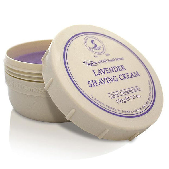 Taylor of Old Bond Street Lavender Shaving Cream 150g