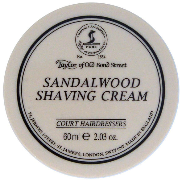 Taylor of Old Bond Street Sandalwood Shaving Cream 60ml