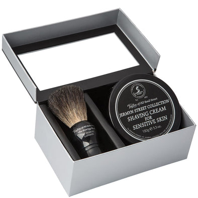 Taylor of Old Bond Street Jermyn St Shaving Cream & Brush Set
