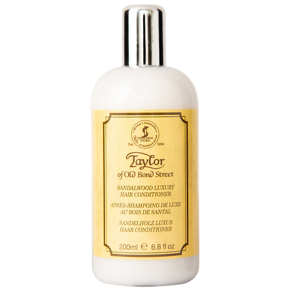 Taylor of Old Bond Street Luxury Conditioner Sandalwood 200ml