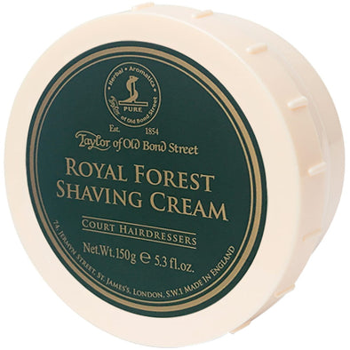 Taylor of Old Bond Street Royal Forest Shaving Cream 150g