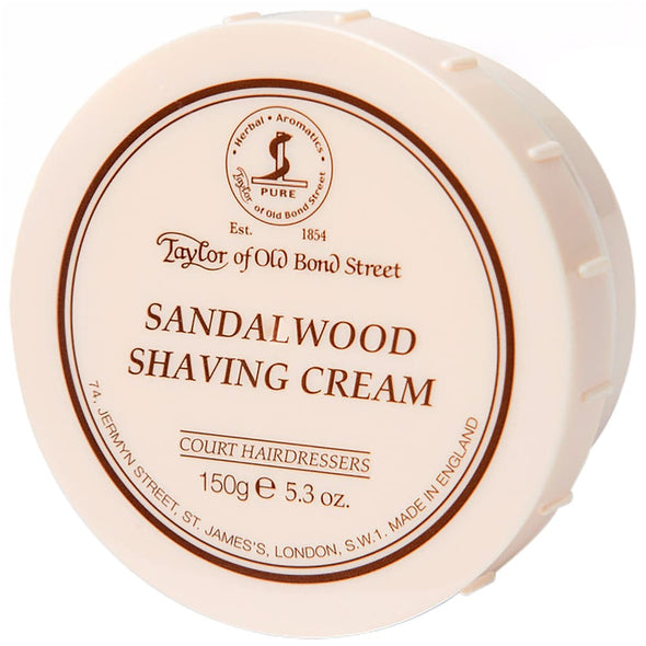 Taylor of Old Bond Street Sandalwood Shaving Cream 150g