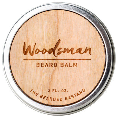 The Bearded Bastard Beard Balm Woodsman 57g