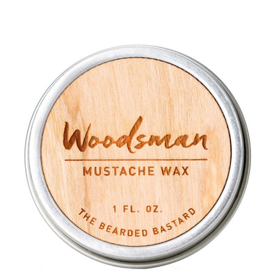 The Bearded Bastard Moustache Wax The Woodsman 28g