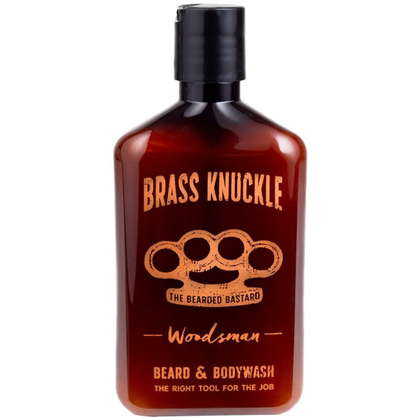 The Bearded Bastard Brass Knuckle Beard & Body Wash Woodsman 237ml