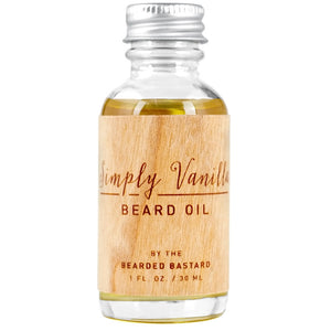 The Bearded Bastard Beard Oil Simply Vanilla 30ml