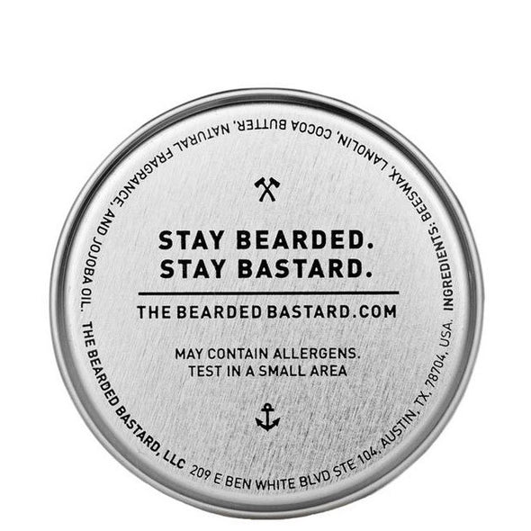 The Bearded Bastard Moustache Wax Simply Vanilla 28g