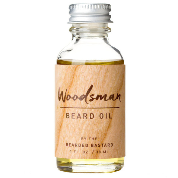 The Bearded Bastard Beard Oil The Woodsman 30ml