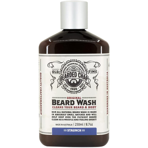 The Bearded Chap Beard Wash Staunch 250ml