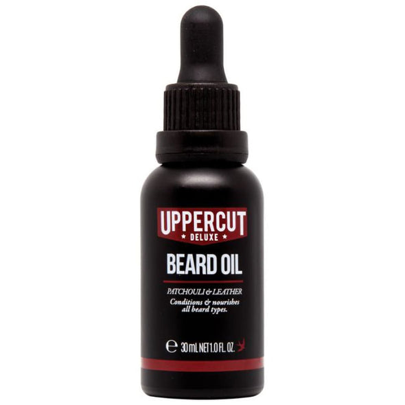 Uppercut Deluxe Beard Oil Patchouli & Leather 30ml