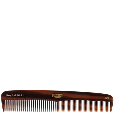 Uppercut Deluxe Pocket Hair Comb Faux Tortoiseshell 180mm