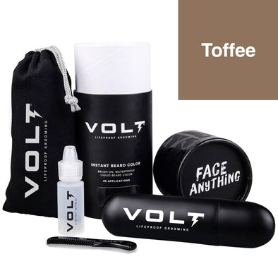Volt Instant Beard Colour Set Toffee 10ml