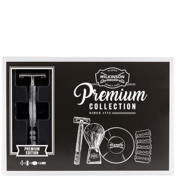 Wilkinson Sword Premium Collection Safety Razor Shaving Kit