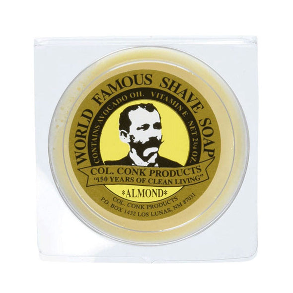 Colonel Conk Almond Glycerine Shaving Soap 64g