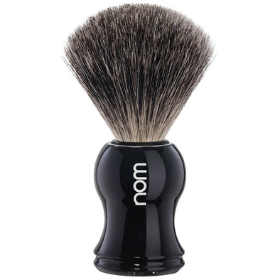 HJM nom Synthetic Shaving Brush Black