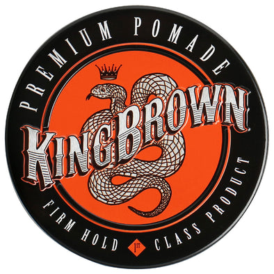 King Brown Premium Pomade 75g