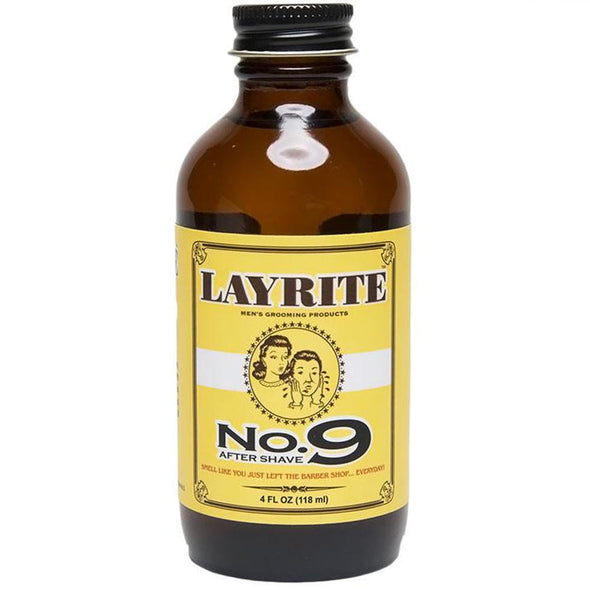 Layrite No. 9 Bay Rum Aftershave 118ml