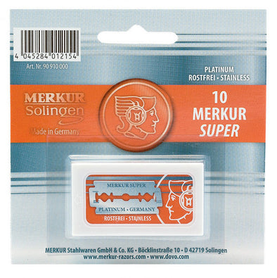 Merkur Super Platinum Double Edge Blades (10)