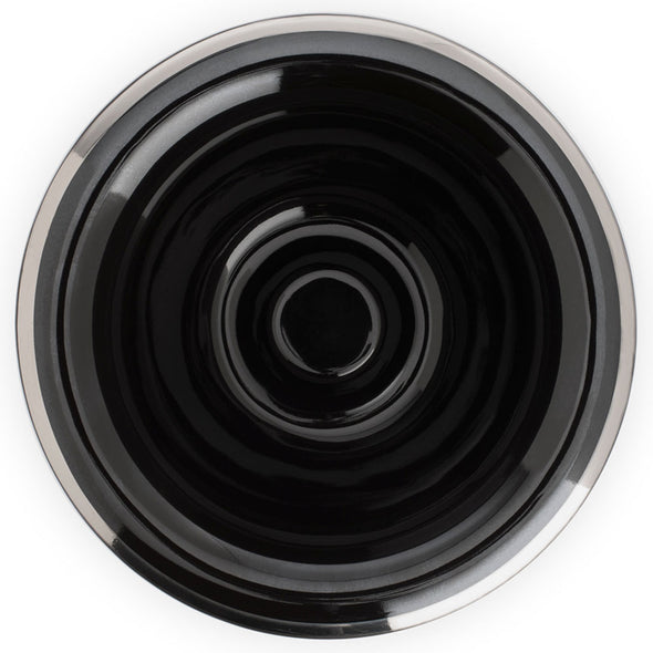 Muhle Shaving Bowl Black & Silver