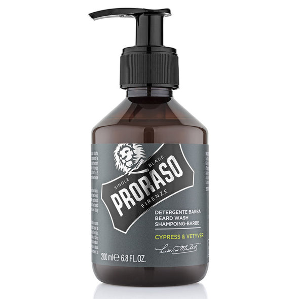 Proraso Beard Wash Cypress & Vetyver 200ml