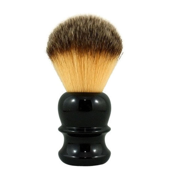 RazoRock Plissoft Synthetic Badger Shaving Brush Black