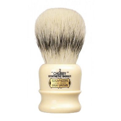 Simpsons Synthetic Badger Shaving Brush Chubby 2