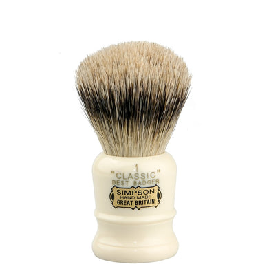 Simpsons Best Badger Shaving Brush Classic