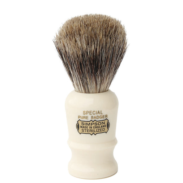 Simpsons Pure Badger Shaving Brush Special 1