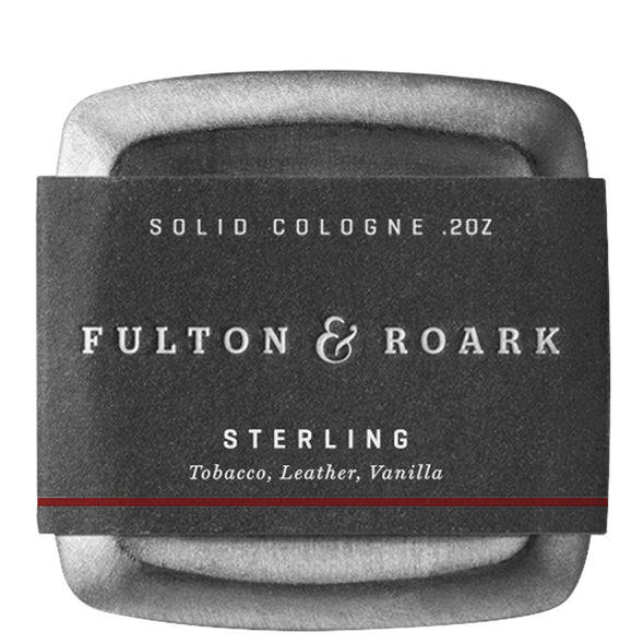 Fulton & Roark Sterling Solid Cologne 80g
