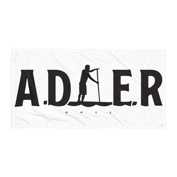 2020 Adler Paddler Beach Towel - White